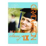 PixDezines Swirls, 2013 Graduation, DIY Colour 13 Cm X 18 Cm Invitation Card