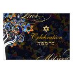 PixDezines tree of life/Bar Mitzvah celebration Personalized Announcements
