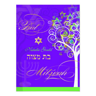 PixDezines tree of life/diy color 14 Cm X 19 Cm Invitation Card