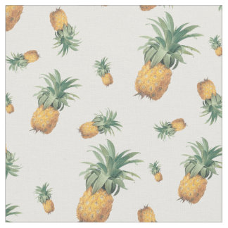 PixDezines Tropical/Pineapples/DIY Background Fabric