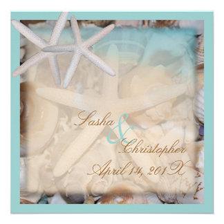 PixDezines Under the Sea Starfish Invitations