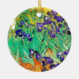 PixDezines van gogh iris/st. remy Christmas Ornament