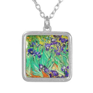 PixDezines van gogh iris/st. remy Custom Necklace