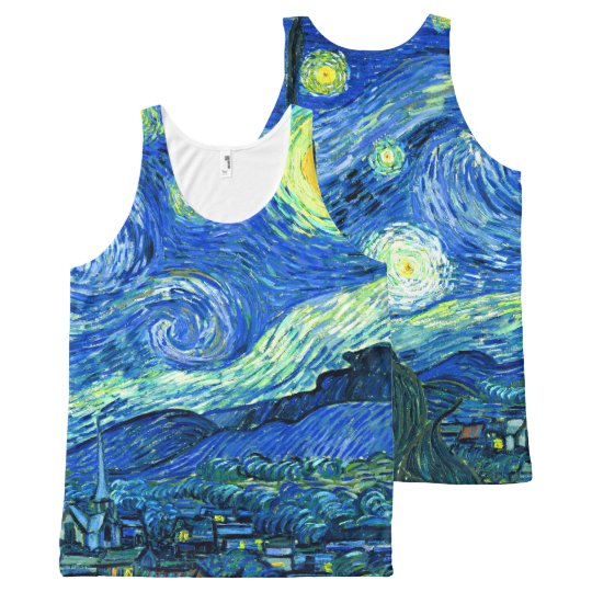 PixDezines van gogh starry night/st. remy All-Over Print