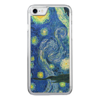 PixDezines Van Gogh Starry Night/St. Remy Carved iPhone 8/7 Case