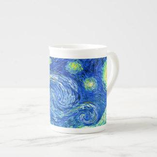 PixDezines van gogh starry night/st. remy Tea Cup