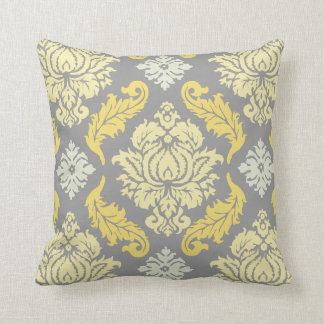 PixDezines venezia damask/diy background Cushion