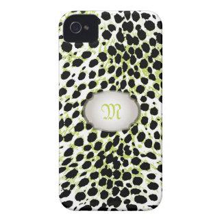PixDezines vintage cheetah spots iPhone 4 Case