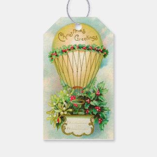 PixDezines Vintage Christmas Balloon