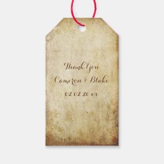 PixDezines vintage faux parchment Gift Tags