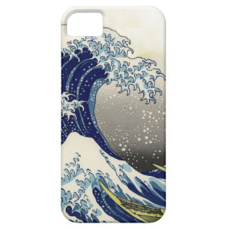 PixDezines Vintage, Great Wave, Hokusai 葛飾北斎の神奈川沖浪 Barely There iPhone 5 Case