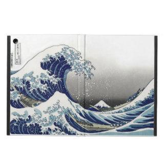 PixDezines Vintage, Great Wave, Hokusai 葛飾北斎の神奈川沖浪 iPad Air Cover