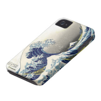 PixDezines Vintage, Great Wave, Hokusai 葛飾北斎の神奈川沖浪 iPhone 4 Covers
