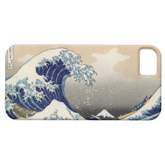 PixDezines Vintage, Great Wave, Hokusai 葛飾北斎の神奈川沖浪 iPhone 5 Cover
