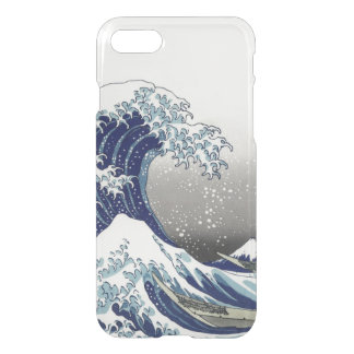 PixDezines Vintage, Great Wave, Hokusai 葛飾北斎の神奈川沖浪 iPhone 8/7 Case