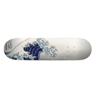 PixDezines Vintage, Great Wave, Hokusai 葛飾北斎の神奈川沖浪 Skate Board Deck