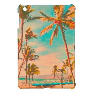 PixDezines vintage hawaiian beach Cover For The iPad Mini