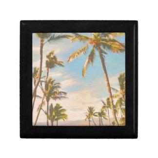 PixDezines vintage hawaiian beach Gift Boxes