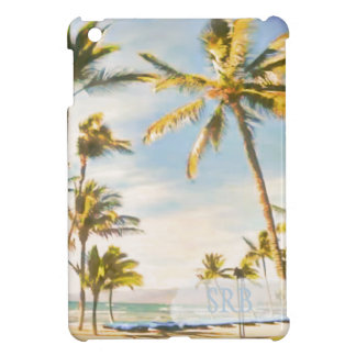PixDezines vintage hawaiian beach iPad Mini Case