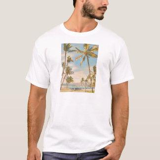 PixDezines vintage hawaiian beach T-Shirt