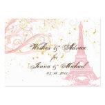 PixDezines Vintage La Tour Eiffel Advice Cards Business Card Template