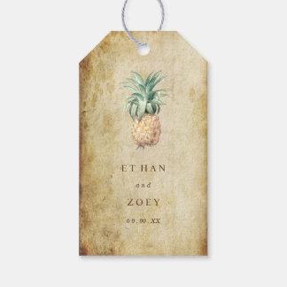 PixDezines Vintage Pineapples/Faux Parchment