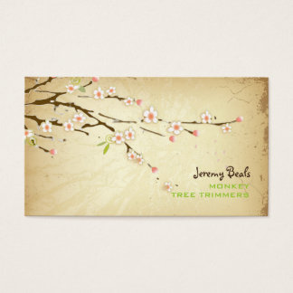 PixDezines vintage/pink cherry tree trimmers ♥♥♥ Business Card