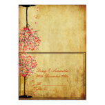 PixDezines vintage pink maple/tent place card Pack Of Chubby Business Cards