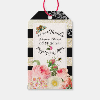 PixDezines vintage roses/victorian/DIYbackground Gift Tags