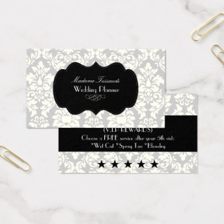 PixDezines vintage versailles damask/diy colors Business Card