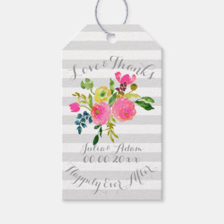 PixDezines watercolor/floral/thank you tags