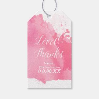 PixDezines Watercolor, Raspberry Pink/Love/Thanks