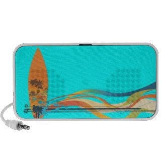 PixDezines Wave Crest Hawaii ♥♥♥♥ Notebook Speaker
