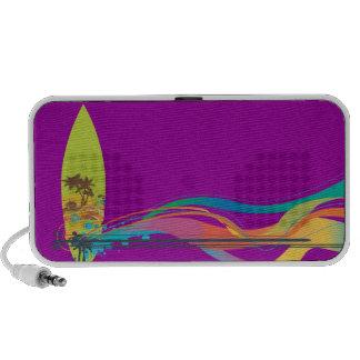 PixDezines Wave Crest Hawaii ♥♥♥♥ iPod Speakers