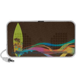 PixDezines Wave Crest Hawaii ♥♥♥♥ Portable Speakers