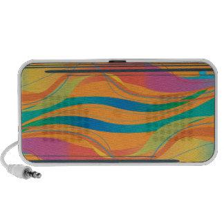 PixDezines Waves Travelling Speaker