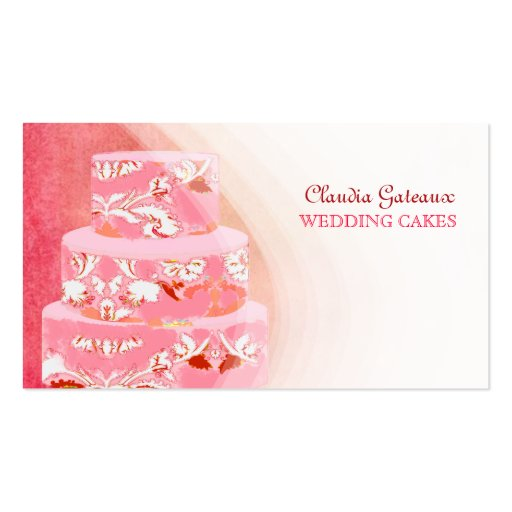 wedding cake business uk pixdezines wedding cakes watercolor affects business cards 22138