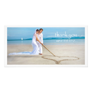 PixDezines wedding photo thank you Card