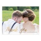 PixDezines Wedding Thank You/Fun Script Postcard