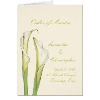 PixDezines white calla lilies diy background Greeting Card