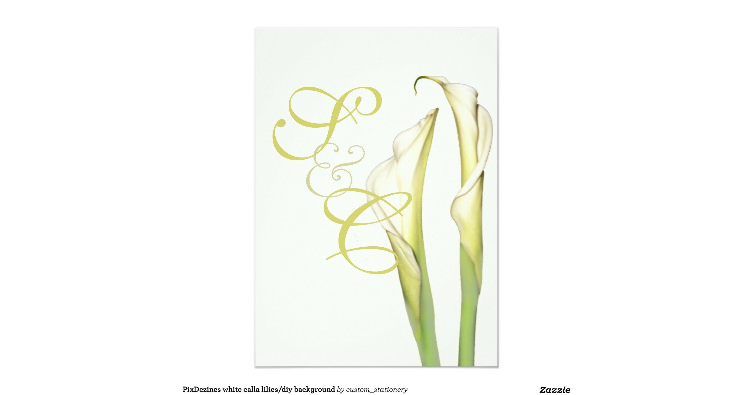 diy wedding invitations calla - 28 images - 50 orange calla wedding ...