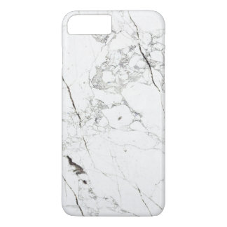 PixDezines WHITE MARBLE iPhone 8 Plus/7 Plus Case