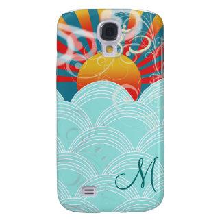 PixDezines Wind + Water + Om Samsung Galaxy S4 Cover