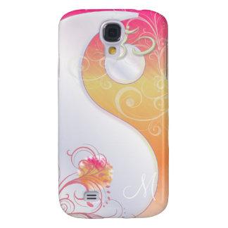 PixDezines Yin Yang Sorbet + Om Samsung Galaxy S4 Case