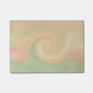 Pixel Abstract Autumn Swirl Post-it Notes