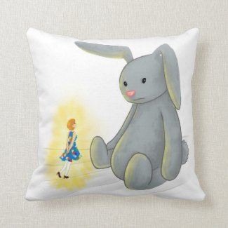 Pixel and Flopsy (from 'The Magical Nurse') Cushion