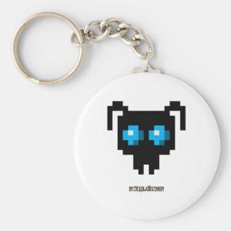 Pixel_Ant_Blue Keychain