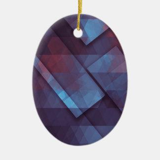pixel art 4 christmas ornament