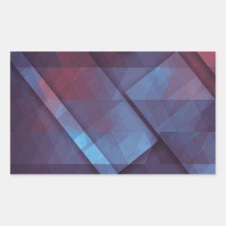 pixel art 4 rectangular sticker