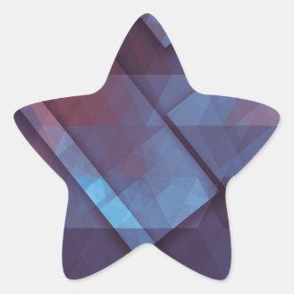 pixel art 4 star sticker